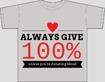 Give 100%