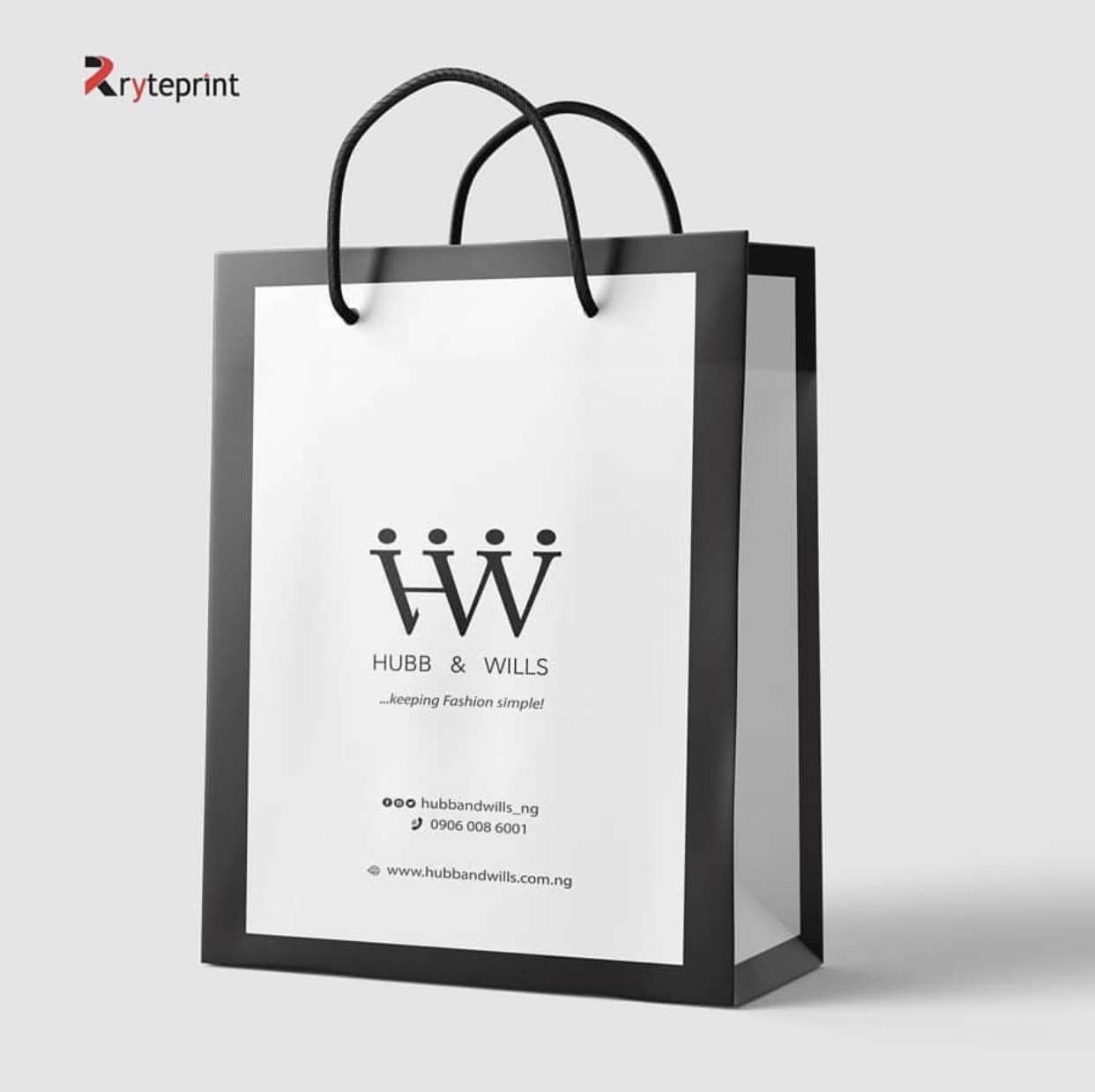 Branded Paper Bags Extra XX Large