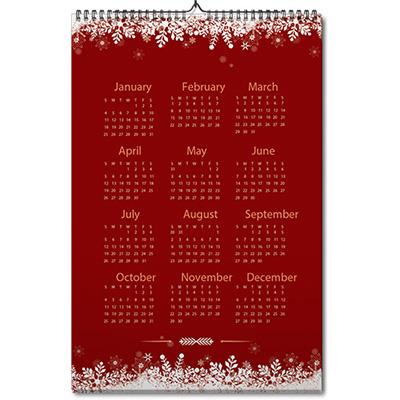A2 Wall Calendar Almanac