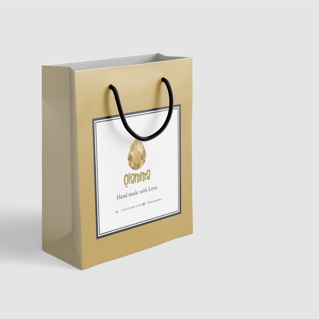 Branded Paper Bags Small