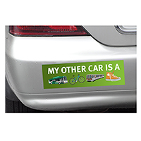 Bumper Stickers - 7' * 3'