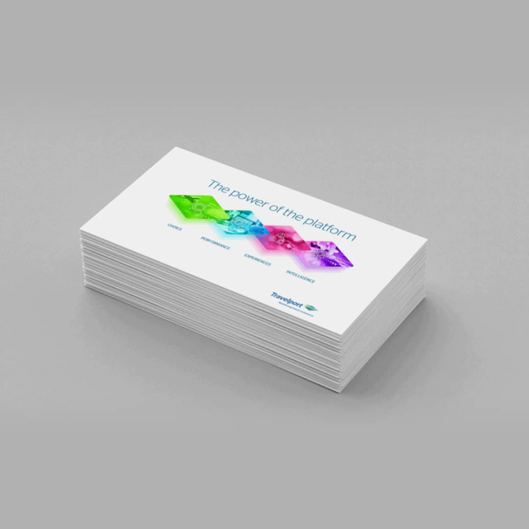 Heavyweight Business Cards One Sided