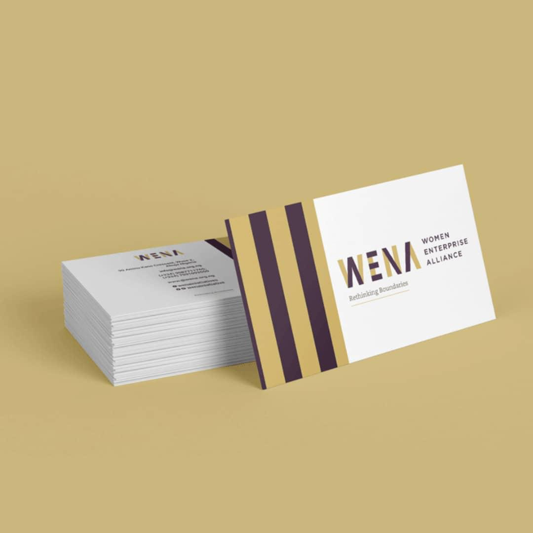 Alabaster Business Cards