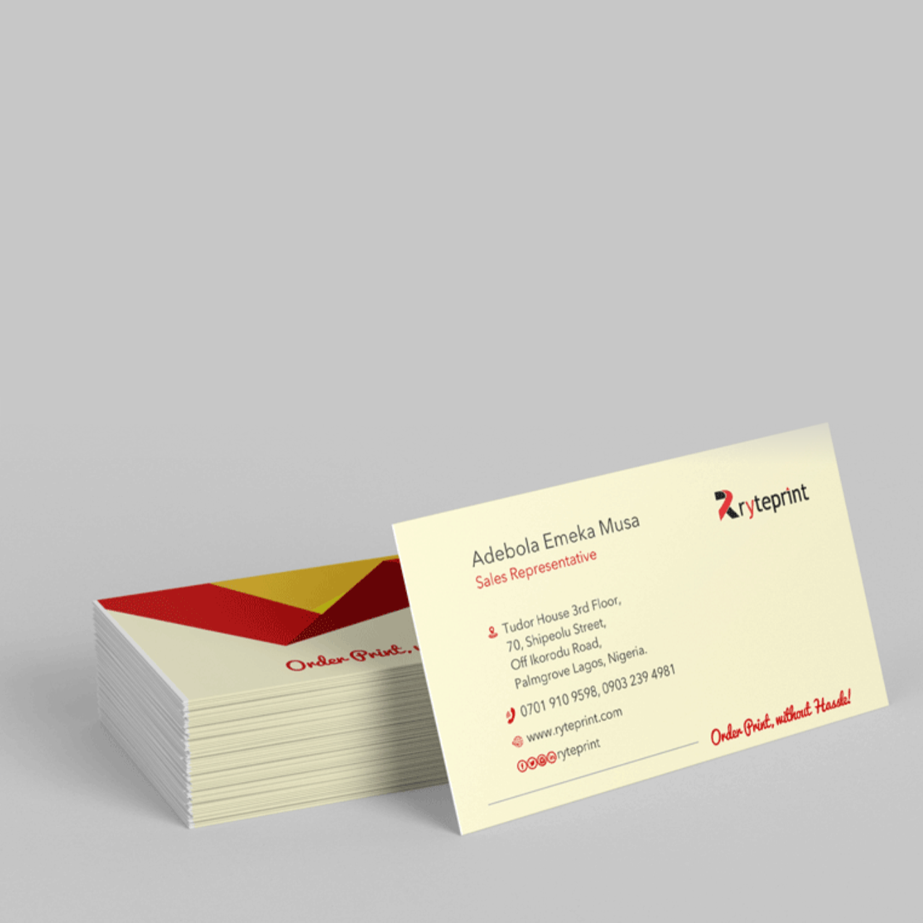Business Cards Next Day