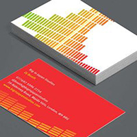 Heavyweight Business Cards Double Sided