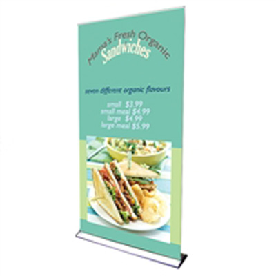 Large Roll Up Banner 7ft * 7ft
