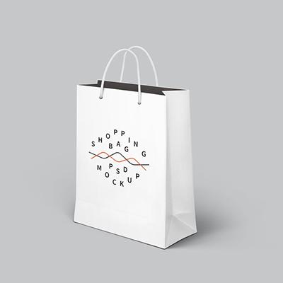 Branded Paper Bags Medium