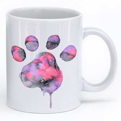 Water Color Paw