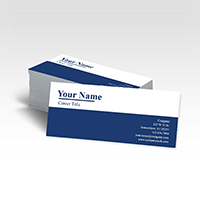 Skinny Business Cards One Sided