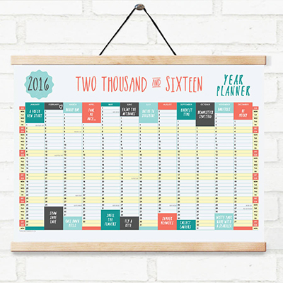A0 Wall Planner
